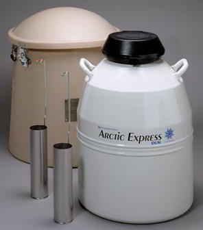 Thermolyne* Arctic Express* Dry Shippers from Thermo Fisher Scientific