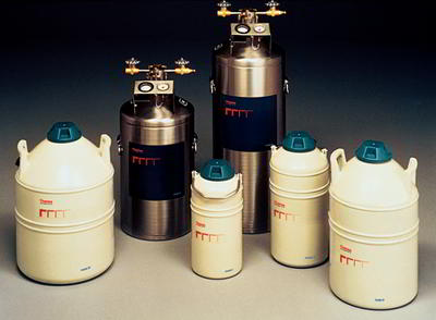 Thermolyne* Liquid Nitrogen Transfer Vessels