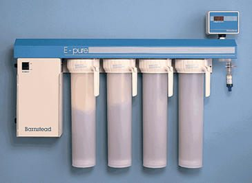 Barnstead* E-Pure* Deionization Systems