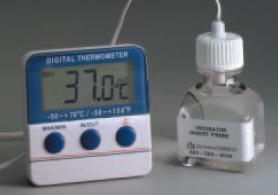 ERTCO* Exact-Temp Refrigerator - Freezer - Incubator - Oven  Certified Thermometers from Barnstead International