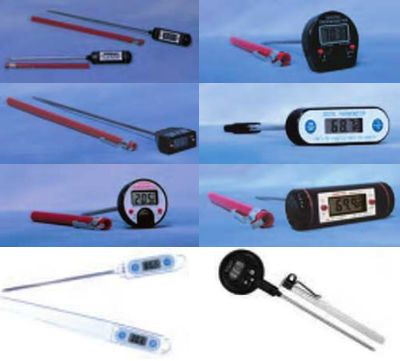 ERTCO* Traceable Digital Thermometer from Barnstead International