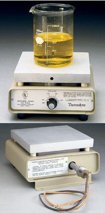Thermolyne* Explosion Proof SAFE-T HP6 Aluminum Hot Plates from Thermo Fisher Scientific
