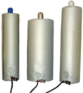 BriskHeat* GCW & HCW Gas Cylinder Warmers from BriskHeat Corp