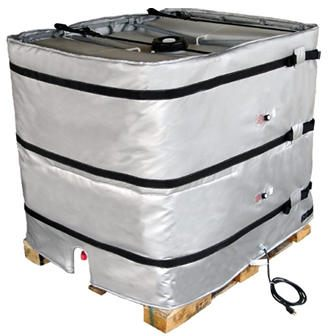BriskHeat* TOTE Wrap-around Tote Tank/Intermediate Bulk Container (IBC) Heaters