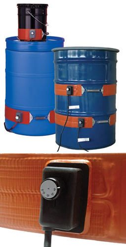 BriskHeat* Heavy-Duty DHCS DPCS Drum & Pail Heaters from BriskHeat Corp