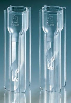 BRAND* UV-Cuvette UV-Transparent Spectrophotometry Cuvettes from BrandTech Scientific, Inc.