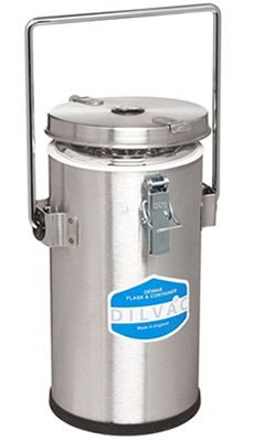 SCILOGEX* DILVAC Stainless Steel Cased Dewar Flasks