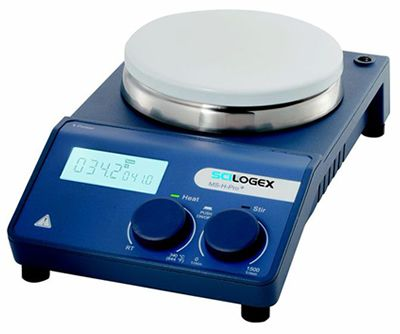 SCILOGEX* MS-H-Pro Plus LCD Digital Ceramic / Stainless Steel Top Stirring Hot Plates