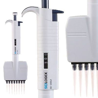 SCILOGEX* MicroPette Multichannel Pipettes from Scilogex, LLC.