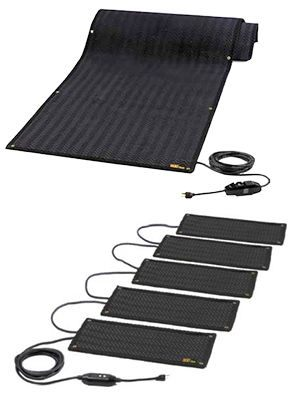 BriskHeat* HeatTrak Snow Melting Walkway & Stair Mats from BriskHeat Corp.
