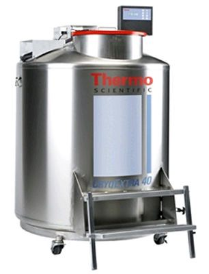 Thermo Scientific* CryoExtra* High-Efficiency Cryogenic Storage Systems