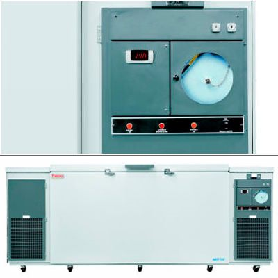 Thermo Scientific* Dual-Safe -80ºC Ultra-Low Temperature Chest Freezers from Thermo Fisher Scientific