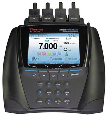 Thermo Orion* VERSA STAR Pro 10 & 80 pH w/LogR Technology Benchtop Meters from Thermo Fisher Scientific