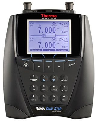 Thermo Orion* DUAL STAR Dual Channel pH/ISE Benchtop Meters from Thermo Fisher Scientific