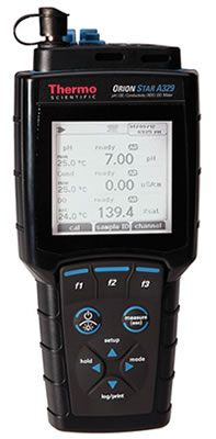 Thermo Orion* Star A329 pH/ISE/Conductivity/RDO/Dissolved Oxygen Portable Meters from Thermo Fisher Scientific