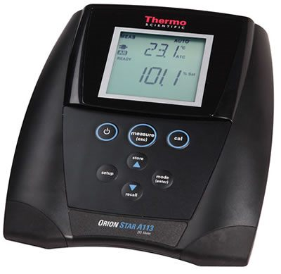 Thermo Orion* Star A113 Dissolved Oxygen Benchtop Meters from Thermo Fisher Scientific