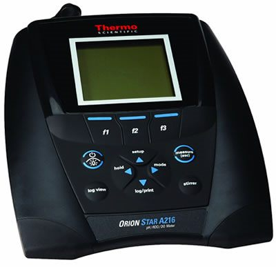 Thermo Orion* Star A216 pH/RDO/Dissolved Oxygen Benchtop Meters from Thermo Fisher Scientific