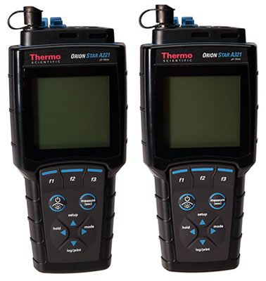 Thermo Orion* Star A221 & A321 pH Portable Meters from Thermo Fisher Scientific