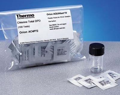 Thermo Orion* AQUAfast Colorimeter Reagent Chemistries from Thermo Fisher Scientific