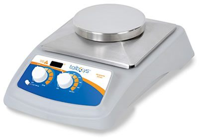 Talboys Advanced Stainless Steel Round Top Stirring Hot Plates from Troemner, LLC.