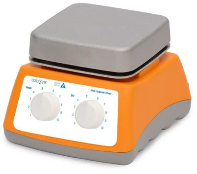 Talboys Basic Mini Cast Aluminum Top Stirring Hot Plates from Troemner, LLC.