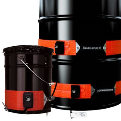 BriskHeat DHLS Heavy Duty Mid-Temperature Drum & Pail Heaters from BriskHeat Corp